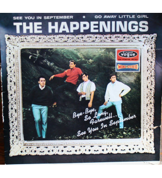 The Happenings - The Happenings (LP, Album) mesvinyles.fr