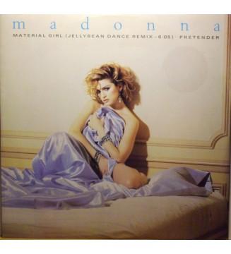 """Madonna - Material Girl / Pretender (12"""", Single) mesvinyles.fr"""