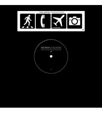 "Karl Bartos - I'm The Message (Matthew Herbert's Doctor Rockit Mix)  (12"", Ltd, RM) mesvinyles.fr"