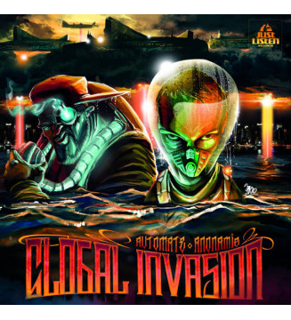 Automate (4) & Anonamis - Global Invasion (LP, Album, Ltd) mesvinyles.fr
