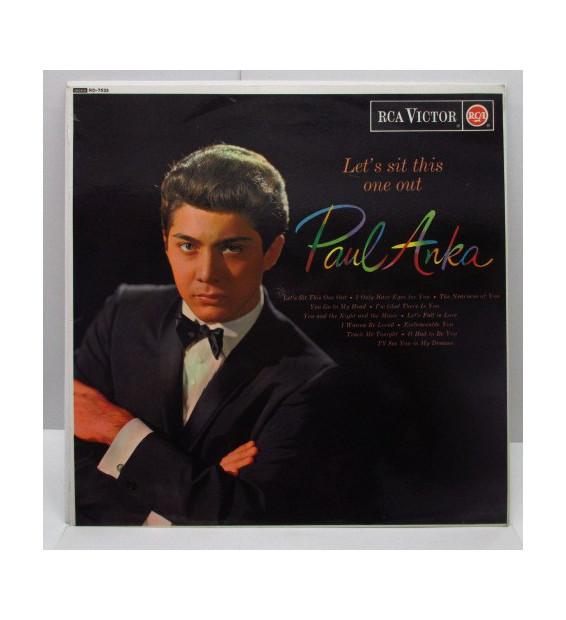 Paul Anka - Let's Sit This One Out mesvinyles.fr
