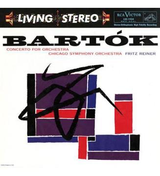 Bartók*, Chicago Symphony Orchestra*, Fritz Reiner - Concerto For Orchestra (LP, RM, 200) mesvinyles.fr