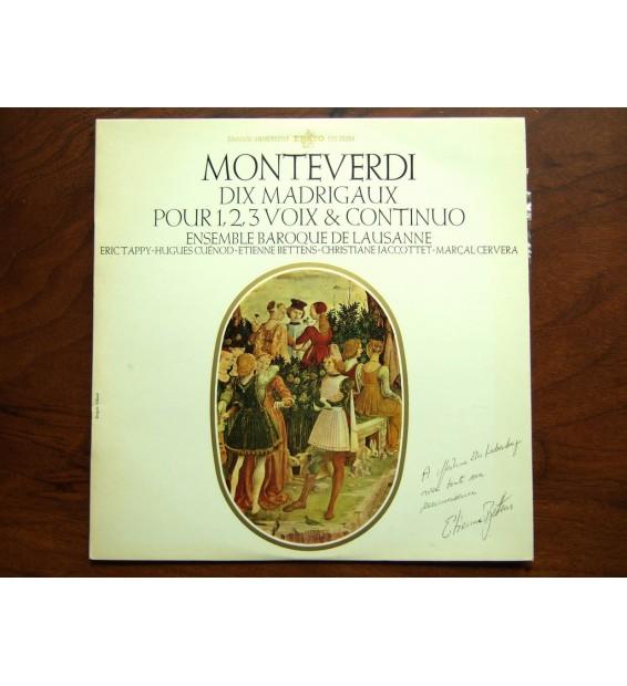 Claudio Monteverdi - Ensemble Vocal Et Instrumental De Lausanne - Dix Madrigaux
