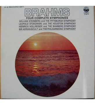 Johannes Brahms, William Steinberg, The Pittsburgh Symphony Orchestra, Leopold Stokowski, Houston Symphony Orchestra, Heinrich H