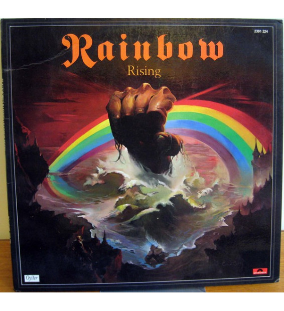 Rainbow - Rising (LP, Album, Gat)