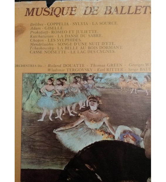 George Walter, Wladimir Tergorsky, Orchestre Des Concerts De Paris, Roland Douatte, Orchestra Of Radio Luxembourg, Serge Baudo,