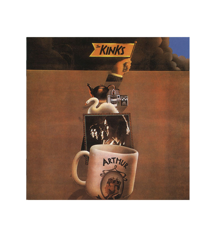 The Kinks - Arthur Or The Decline And Fall Of The British Empire (LP, RE, Gat) mesvinyles.fr
