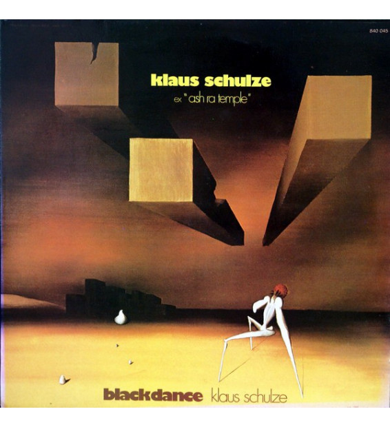 Klaus Schulze - Blackdance (LP, Album)