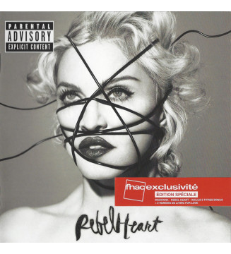 Madonna - Rebel Heart (CD, Album, Dlx + CD, Bon + Ltd, S/Edition, Fna) mesvinyles.fr