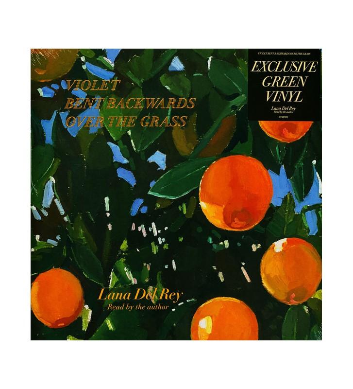 Lana Del Rey - Violet Bent Backwards Over The Grass (LP, Album, Ltd, Gre) mesvinyles.fr