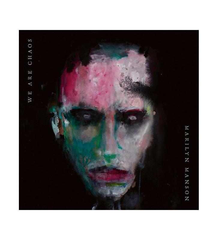 Marilyn Manson - We Are Chaos (LP, Album, Ltd, Red) mesvinyles.fr