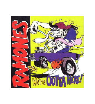 Ramones - We're Outta Here! (LP, Blu + LP, Yel + Album, Ltd) mesvinyles.fr