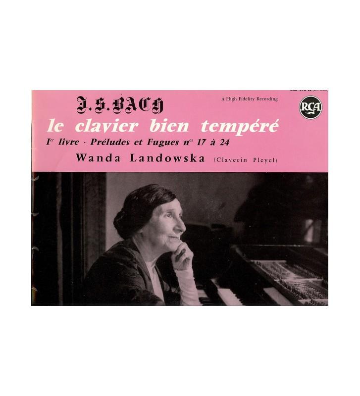Wanda Landowska - Le clavier bien tempéré (LP, Album, Hig) mesvinyles.fr