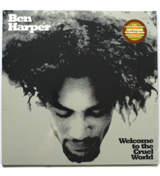 "Ben Harper - Welcome To The Cruel World (LP, Album, 180 + 7"", Whi + Ltd, RE) mesvinyles.fr"