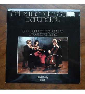 Felix Mendelssohn-Bartholdy, Stuttgarter Klaviertrio - The Piano Trios - Die Klaviertrios - Les Trois Pour Piano (LP) mesvinyles