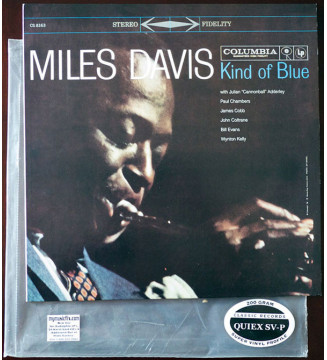 Miles Davis - Kind Of Blue (LP, Album, RE, RM, 200) mesvinyles.fr