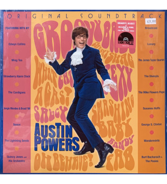 Various - Austin Powers (Original Soundtrack) (Comp, RE + LP, Ora + LP, Pin) BLACK FRIDAY 2019 mesvinyles.fr