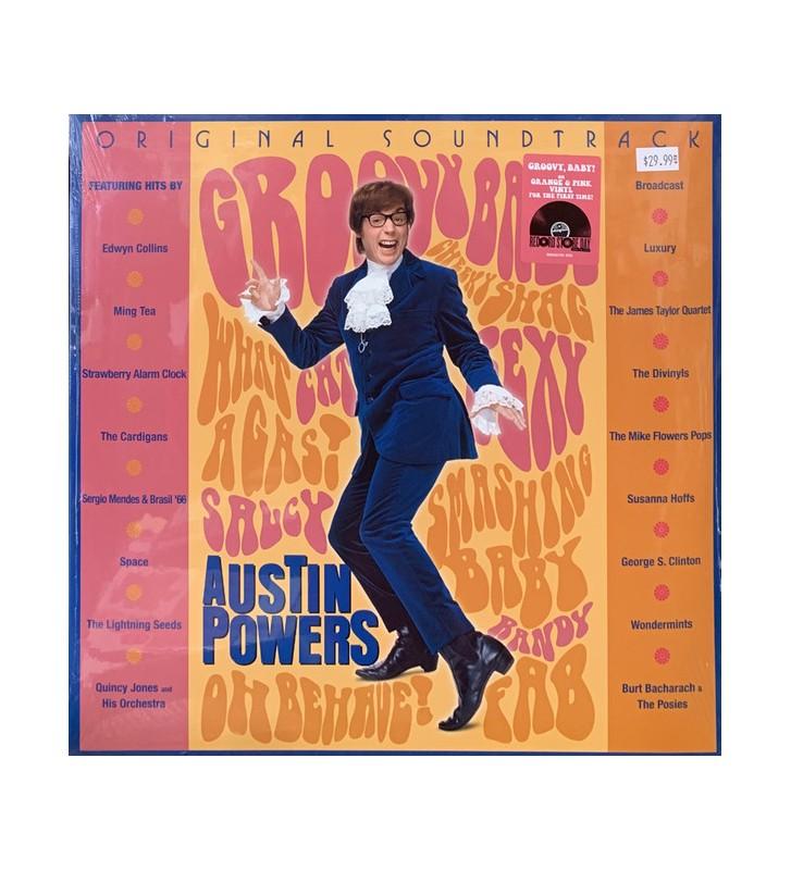 Various - Austin Powers (Original Soundtrack) (Comp, RE + LP, Ora + LP, Pin) Disquaire Day (RSD) mesvinyles.fr