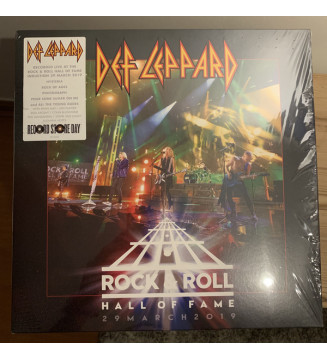 "Def Leppard - Rock & Roll Hall Of Fame 29 March 2019 (12"", EP) BLACK FRIDAY 2019 mesvinyles.fr"