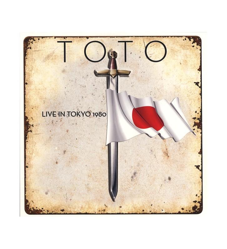 Toto - Live In Tokyo (LP, Album, Ltd, Red) BLACK FRIDAY 2019 mesvinyles.fr