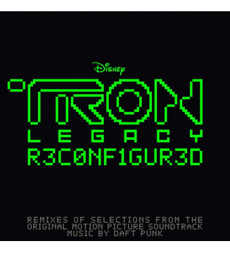 Daft Punk - TRON: Legacy Reconfigured (2xLP, Album) Disquaire Day (RSD) mesvinyles.fr