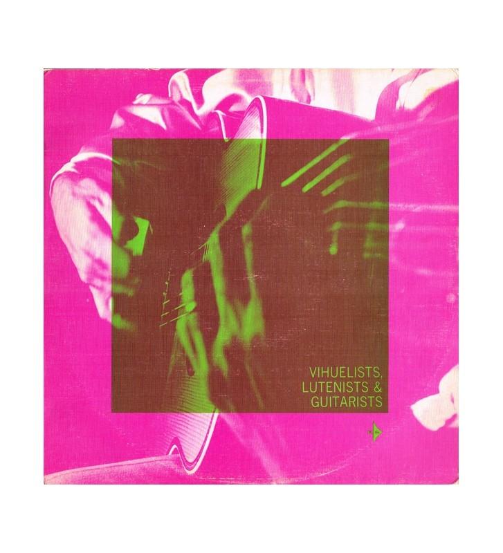 Oscar Caceres* - Vihuelists, Lutenists & Guitarists (LP, Album, Club) mesvinyles.fr