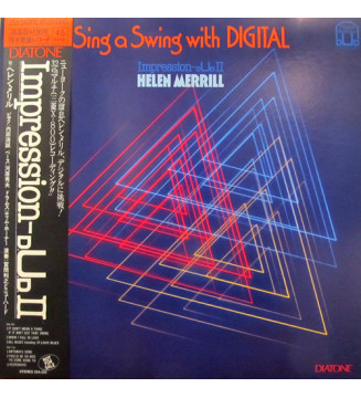 Helen Merrill - Sing A Swing With Digital (LP, Album, Promo) mesvinyles.fr