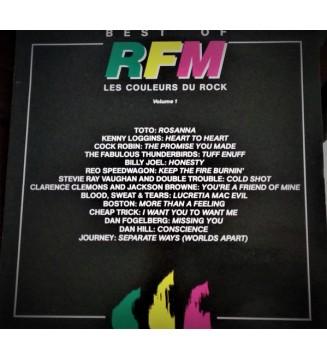 RFM - Les Couleurs Du Rock Volume 1 (LP, Comp) mesvinyles.fr