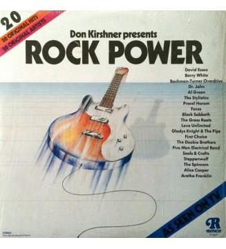 Various - Rock Power (LP, Comp, Ter) mesvinyles.fr