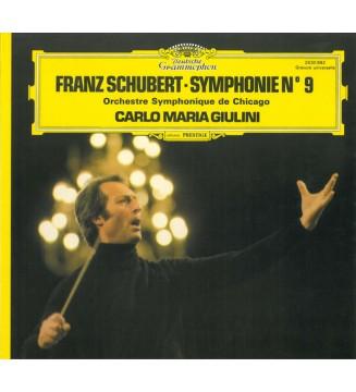 Franz Schubert, Orchestre Symphonique De Chicago*, Carlo Maria Giulini - Symphonie N° 9 (LP, Album, Gat) mesvinyles.fr