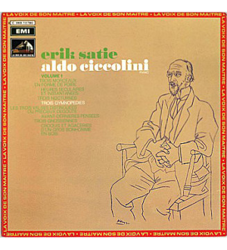 Erik Satie / Aldo Ciccolini - Pieces Pour Piano (Volume 1) (LP, Album, Quad, RE, Gat) mesvinyles.fr