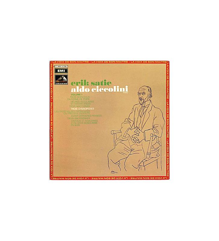 Erik Satie / Aldo Ciccolini - Pieces Pour Piano (Volume 1) (LP, Album, Quad, RE, Gat) mesvinyles.fr
