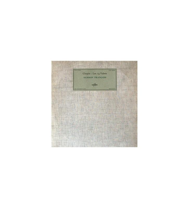 Chopin*, Samson François - Les 14 Valses (LP, Mono) mesvinyles.fr