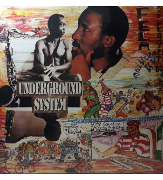 Fela Anikulapo-Kuti* And Egypt 80 - Underground System (LP, Album, RE) mesvinyles.fr