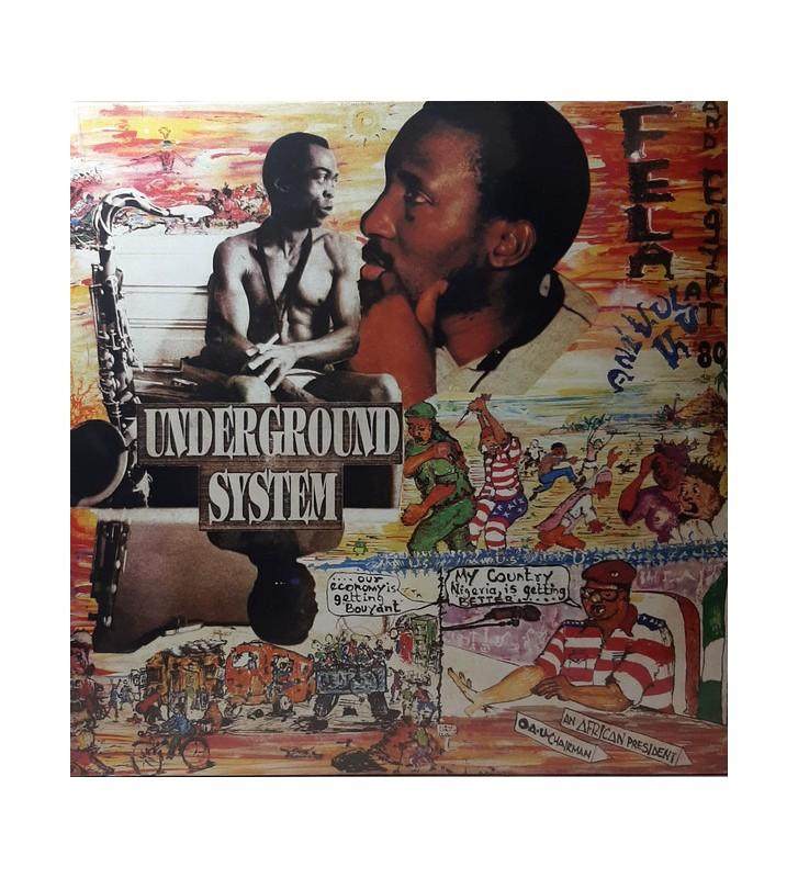 Fela Anikulapo-Kuti* And Egypt 80 - Underground System (LP, Album, RE) mesvinyles.fr