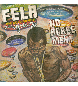Fela Aníkúlápó Kuti* And Afrika 70* - No Agreement (LP, Album, RE) mesvinyles.fr