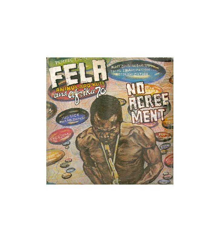 Fela Aníkúlápó Kuti* And Afrika 70* - No Agreement (LP, Album, RE) mesvinyles.fr