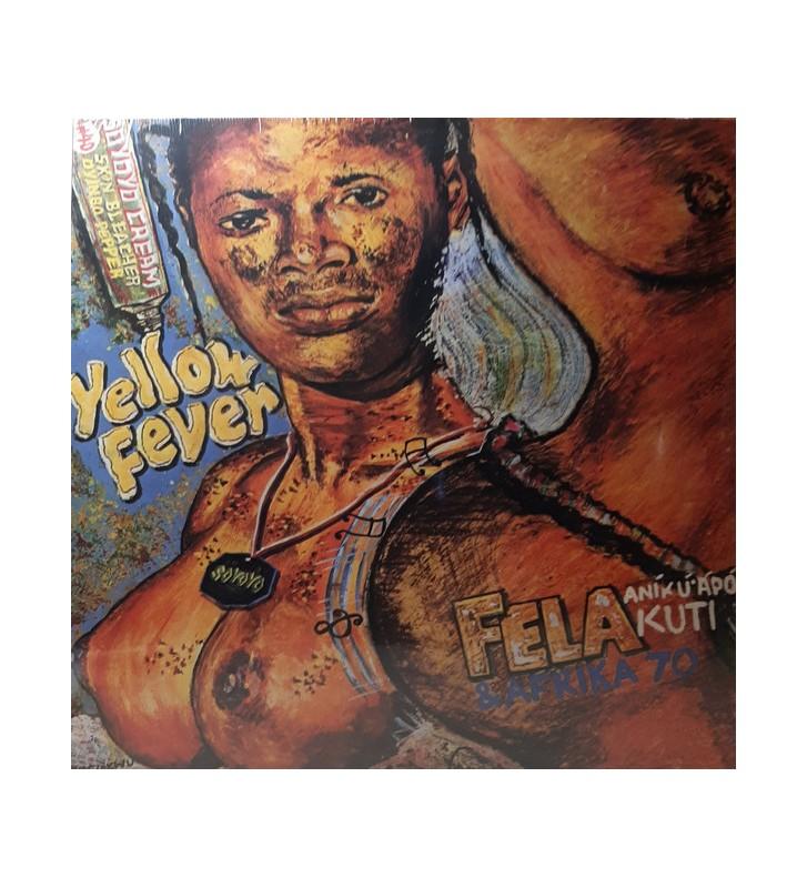 Fela Anikulapo Kuti* & Afrika 70* - Yellow Fever (LP, Album, RE) mesvinyles.fr
