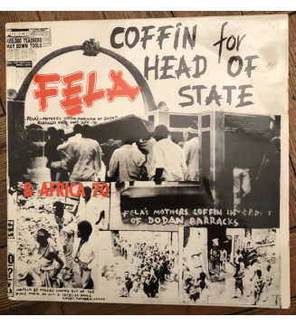 Fela* & Africa 70 - Coffin For Head Of State (LP, Album, Mono, RE) mesvinyles.fr