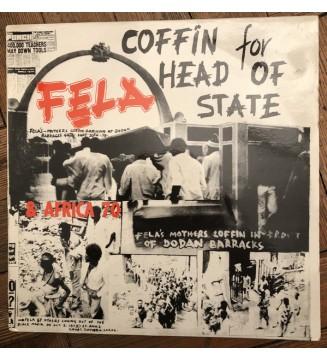 Fela* & Africa 70 - Coffin For Head Of State (LP, Album, Mono, RE) mesvinyles.fr