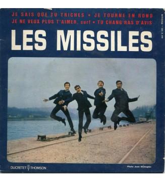 """Les Missiles - Je Sais Que Tu Triches  (7"""", EP) mesvinyles.fr"""