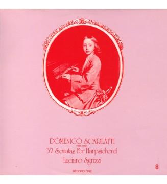 Domenico Scarlatti, Luciano Sgrizzi - 32 Sonatas For Harpsichord (2xLP, Album, Club) mesvinyles.fr