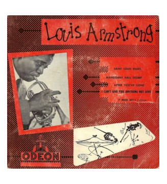 "Louis Armstrong And His Orchestra - Saint-Louis Blues (7"", EP) mesvinyles.fr"