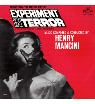 Henry Mancini - Experiment In Terror (Music From The Motion Picture) (LP, Album, Mono)