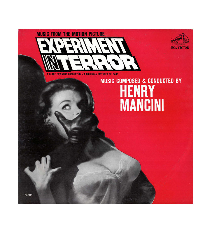 Henry Mancini - Experiment In Terror (Music From The Motion Picture) (LP, Album, Mono) mesvinyles.fr