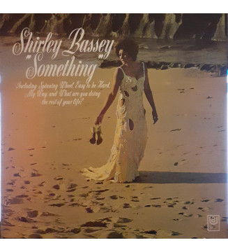 Shirley Bassey - Something (LP, Album) mesvinyles.fr