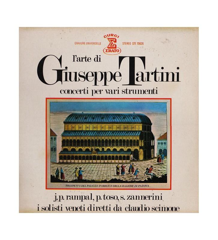 Giuseppe Tartini / J. P. Rampal* / P. Toso* / S. Zannerini* / I Solisti Veneti Diretti Da Claudio Scimone - L'Arte Di Giuseppe