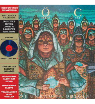 Blue Öyster Cult - Fire Of Unknown Origin (LP, Ltd, RE, RM, Blu) mesvinyles.fr