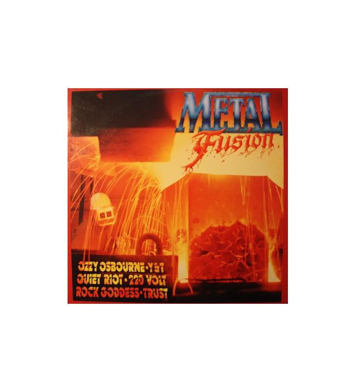 Various - Metal Fusion (LP, Comp) mesvinyles.fr