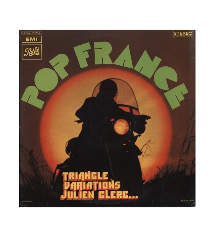 Various - Pop France (2xLP, Comp) mesvinyles.fr